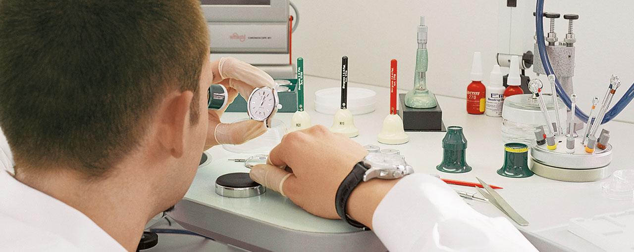 Uhrmacher  Uhrmacher-Test | Gerhard D. Wempe KG